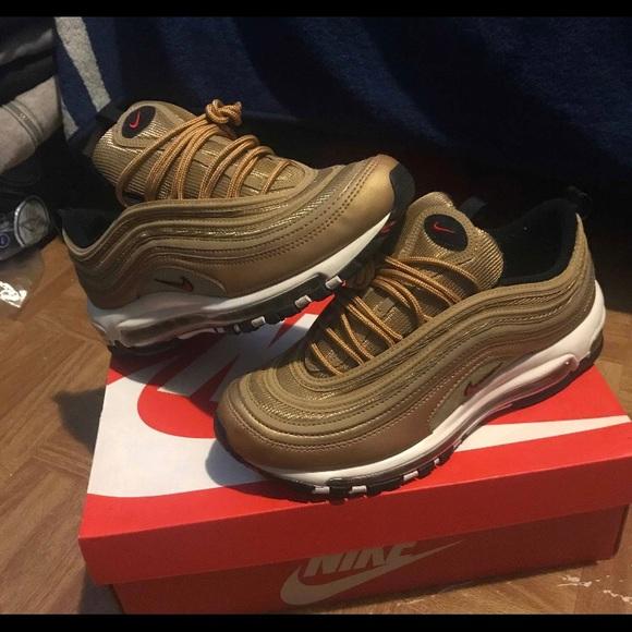 sports shoes 40184 77b46 Nike air max 97 gold 2018!!! New version NWT